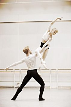 Sarah Lamb, Stephen McRae watching a couple dance together is magic it shows that human interaction can be non sexual but still be two people coming together as one being beautiful ....