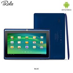 15-Piece Set: iRola Google Android 4.2 1.2GHz 4GB 7' Dual-Camera Tablet PC & Accessories - Assorted Colors at 73% Savings off Retail!