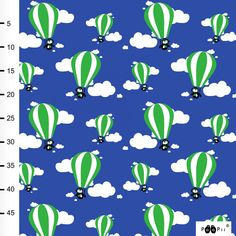 Hot Air Balloon, Blue Green, Balloons, Organic, Prints, Globes, Duck Egg Blue, Hot Air Balloons, Balloon