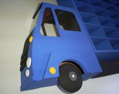 Porta Carros Hotwheels.  Caminhão porta carros hotwheels,  para 35 carrinhos.