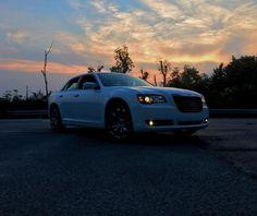Photo cred: Dakota M.  #car #drive #ride #cargram #auto #Chrysler #Chrysler300 #sunset #clouds #sky #autogram #instacar #instaauto