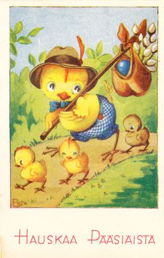 RAMSTEDT DEVADATTA - sulo heinola - Picasa-verkkoalbumit Peter Cottontail, Vintage Cards, Holiday Cards, Shabby, Artist, Painting, Old Cards, Little Birds, Trading Cards