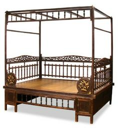 Asian Inspired- I'm not gonna lie, this is a pretty cool canopy bed!