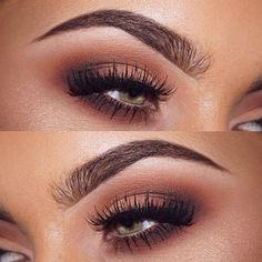 neutral brown smokey eye makeup Jamie Genevieve