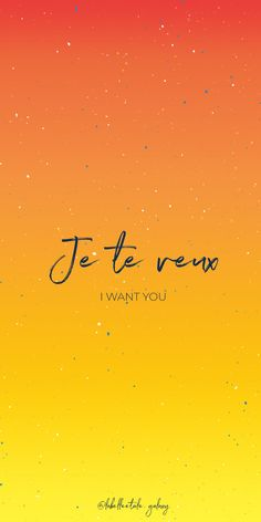 ✨ Je te veux ✨ I want you - ✨ Bonjour ✨ You are in the right pace to Learn French Quotes, Words and Idioms ✨ But also to find some French Tattoos Ideas or French Wallpapers ✨ from Paris, France - French Love Phrases, French Words Quotes, One Word Quotes, How To Speak French, Unusual Words, Unique Words, Love Words, Learn French Beginner, Great Love Quotes