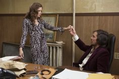 Amy Adams and Christian Bale star in Columbia Pictures' AMERICAN HUSTLE. Photo by:  Francois Duhamel