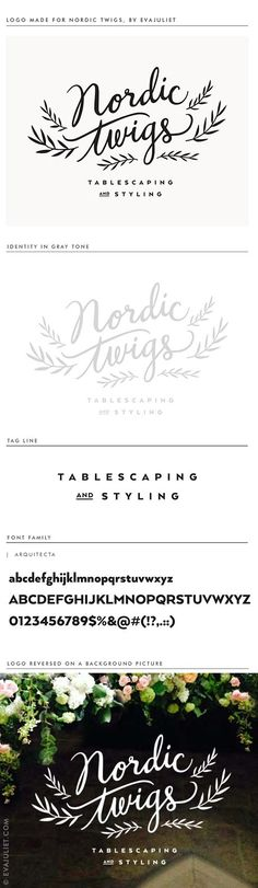 Logo and branding. Love this!