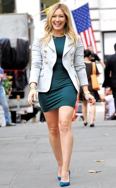 Hilary Duff from Guess the Celeb Halloween Costume!