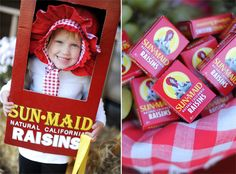 @Lucinda Wheeler... Kylee Ann would be the CUTEST little box of raisins!!  If you don't make this for her, well, I think I'll wear it.