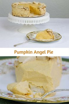 Pumpkin Angel Pie in