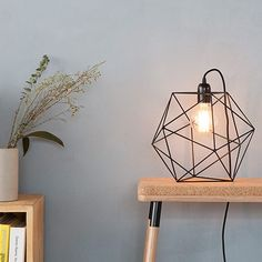 Acqua Table Lamp by Bigdesign Geek Room, The Home Edit, Black Table Lamps, Light My Fire, Little Houses, Lamp Design, Interior Lighting, Innovation Design, Exterior Design