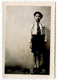 Vintage photo of Boy....by unexpectedtales