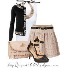 """""""Ruffles, Lace & Embellishments"""" by jaycee0220 on Polyvore"""