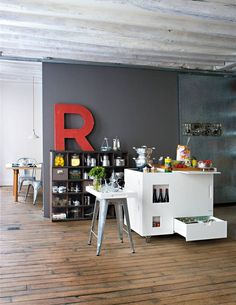 Radical Downsizing: High/Low Mini Kitchens: Remodelista