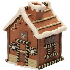 Pittsburgh Penguins Gingerbread House - $19.99