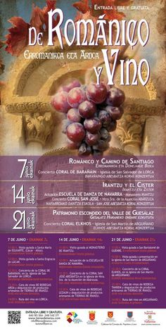 Del Camino de Santiago, el arte románico y vino
