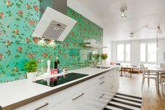 Amazing kitchen splash back