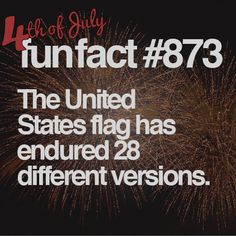 14 Fun and Forgotten Facts About the Fourth of Juy #funfacts #JulyFourth