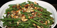 ... green beans garlic roasted green beans with shallots and almonds green