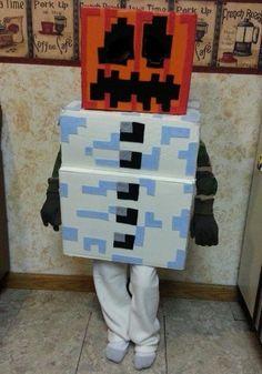 Minecraft Villager Head Costume How to Make a DIY Mine...