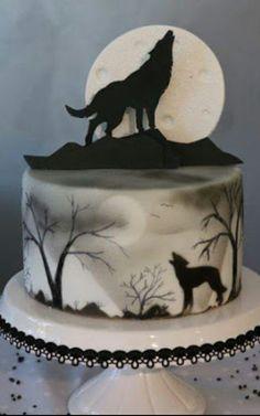 Lone Wolf...Man Cake?