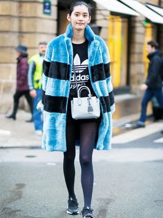 This is your definitive guide to looking chic when it's cold. You're welcome.