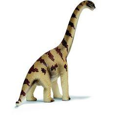 Figurine Brachiosaurus  - marque : Schleich Cette figurine Brachiosaurus de Schleich représente le plus grand des dinosaures, dont la tête atteignait la cime des arbres !... prix : 7.49 EUR €  chez Auchan Jeux et Jouets #Schleich #AuchanJeuxetJouets