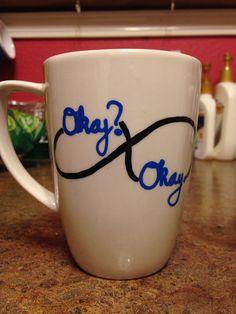 SOMEONE BUY ME THIS MUG AND I WILL LOVE YOU FOREVER OKAY OKAY http://www.etsy.com/listing/176888653/okay-okay-tfios-mug