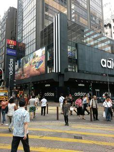 Adidas flagship store TST Hong Kong