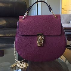 Shoulder bag, brand new!! Burgundy and gold chain New!! Shoulder bag. Bags Shoulder Bags