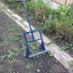 """Чудо-лопата """"Гектар"""" -  вилы на колесах , супер лопата, изобретение для огорода и хозяйства"""