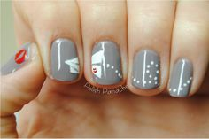 Perfect Paperman nails!