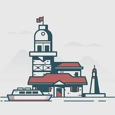 from @blackwoodgraphic - Harbor  #harbor #sea #building #oldstyle #boat #blackwoodgraphic #graphicdesign #design #graphic #designer #adobe #illustrator #photoshop #vector #vectorart #art #artist #follow #drawing #logo #artwork #picoftheday #picture #illustration #pic #photooftheday #icon