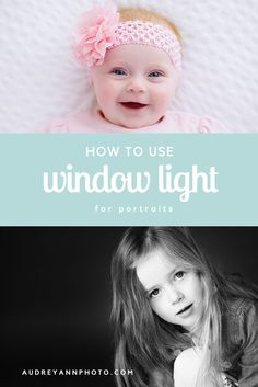 Want smooth, even skin and eyes that are full of life in your child  portraits? I bet you do! This simple tutorial will guide you through the  first steps of using natural window or doorway light to create beautiful  portraits.