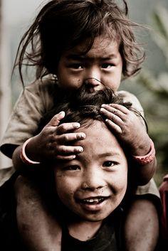 Siblings. Nepal