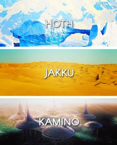 Worlds of the Star Wars Universe: Hoth - Jakku - Kamino Star Wars Clone Wars, Star Trek, Kamino Star Wars, Star Wars Planets, Star Wars Personajes, Jedi Knight, Wattpad, The Force Is Strong, Anakin Skywalker