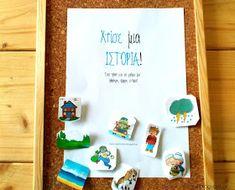 Dyslexia at home: Χτίσε μια ιστορία! Σχεδιάγραμμα 3 βημάτων για ολόκληρες γραπτές ιστορίες! Resource Room, Learning Disabilities, Dyslexia, Writing Activities, Teaching Kids, Education, School, Frame, Blog