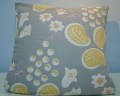 A Laura Ashley Bloomsbury Duncan Grant's 'Grapes' cushion cover (grey)