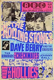 Image result for posters the rolling stones