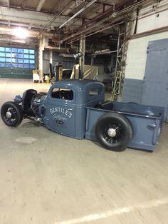 1937 Ford pickup hot rod rat rod jalopy