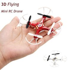 Mini Explorers RC #Quadcopter 3D Flying Mini RC Helicopter Type #Drone with 4 channels, Remote Control and Shock Resistant at #HobbySnobby.