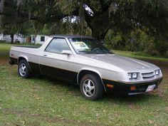 1984 Dodge Rampage passenger side