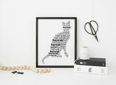 This Black Cat print is a perfect gift for a crazy cat lady! This unframed print is 6.25 x 8.25 inches and is printed on archive paper, which guarantees a much greater depth and sharpness as well as higher colour retention over time.  Please visit