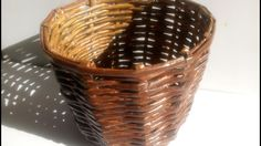 How to make a Basket with Newspaper