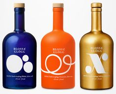 Blossa Glögg #wine #packaging #alcoholic | AM