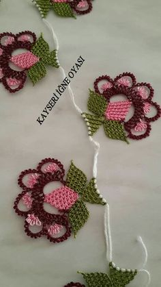 This Pin was discovered by Fik Baby Knitting Patterns, Needle Lace, Lace Making, Drawing, Hand Embroidery, Elsa, Needlework, Knit Crochet, Crafts