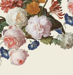 Masterpiece, E358112 by Eijffinger. This beautiful floral wallpaper mural takes you into the intriguing world of old masters and exquisite details. Available through Guthrie Bowron stores in New Zealand.