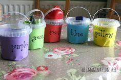 Colour Scavenger Hunt for Preschoolers