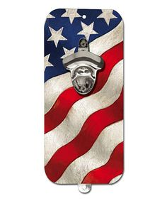Take a look at this Stars & Stripes Clink 'n' Drink Bottle Opener by Evergreen on #zulily today!
