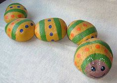 rock concert painted on rocks | Caterpillar Painted on Individual River Rocks | Flickr - Photo Sharing ...